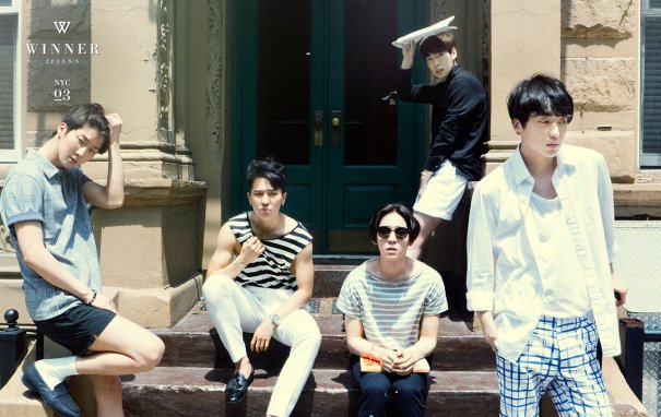 [Kpop] WINNER Unveiled NYC Teaser Photos