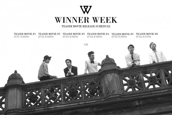 [Kpop] WINNER Week Starts: Watch Video Teaser #1