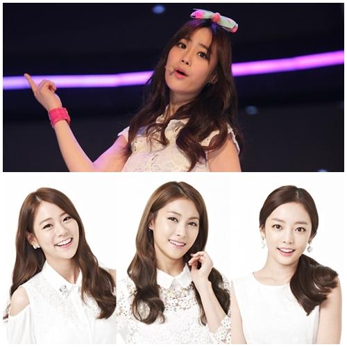 "Original KARA Members ""Calmly Accept"" New Member Youngji"