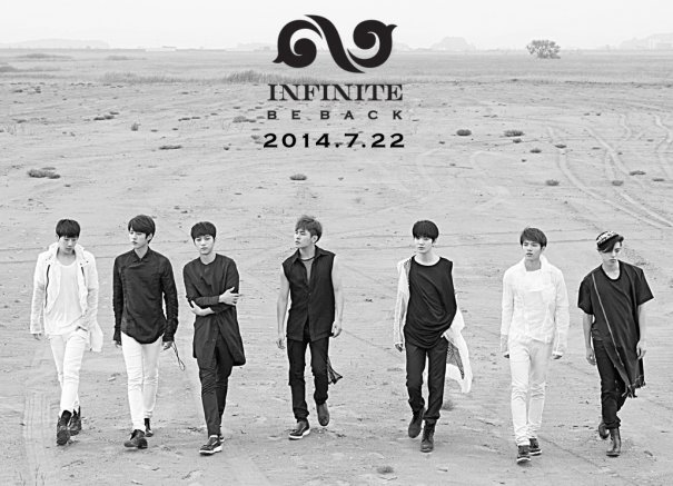 """INFINITE to Make Comeback with Repackage Album """"Be Back"""""""