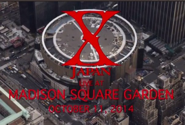 X Japan Reveal Date Of Ticket Sale Opening For Their Concert At The Madison Square Garden