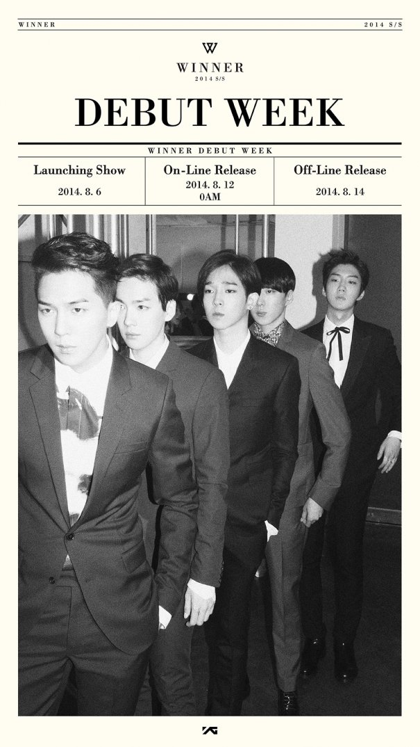 "WINNER Launched Debut Week ""2014 S/S"""