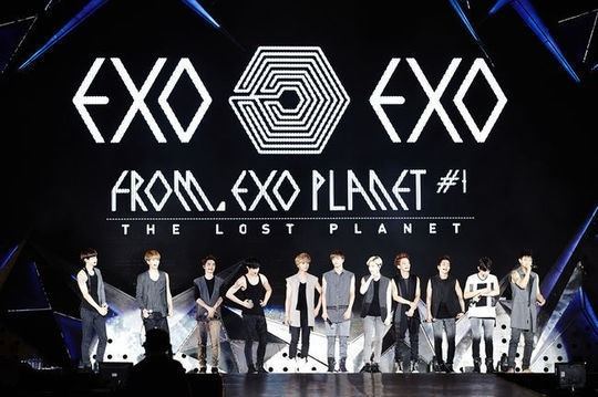 EXO Gained 10 000 Fans in Xi'an China