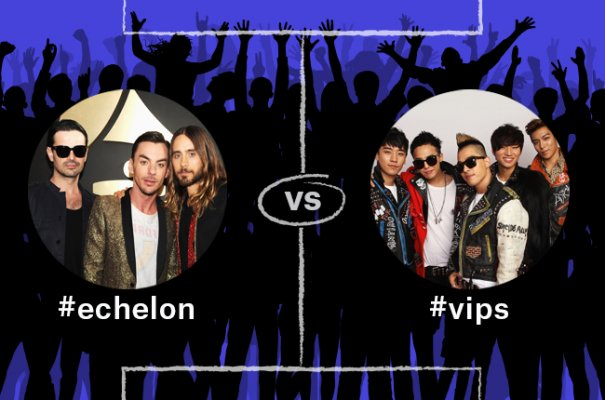 BIG BANG VIPs Competing For Championship alongside Fan Clubs of Western Artists