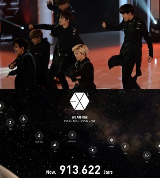 "900 000 Fans Joined EXO Fan Club ""EXO-L"""