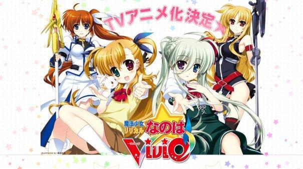 """""""Magical Girl Lyrical Nanoha ViVid"""" Getting Anime Adaptation"""