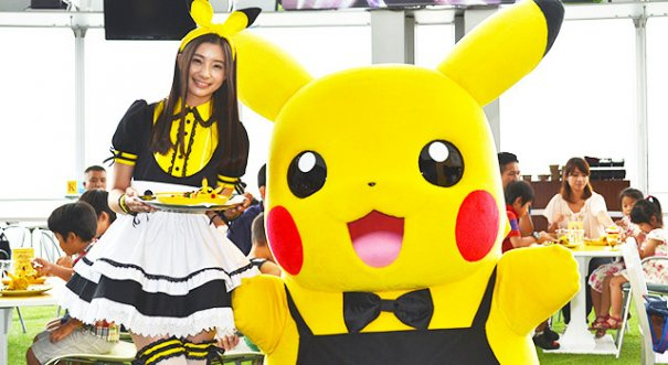 Pikachu Cafe in Roppongi Hills sees Special Guest