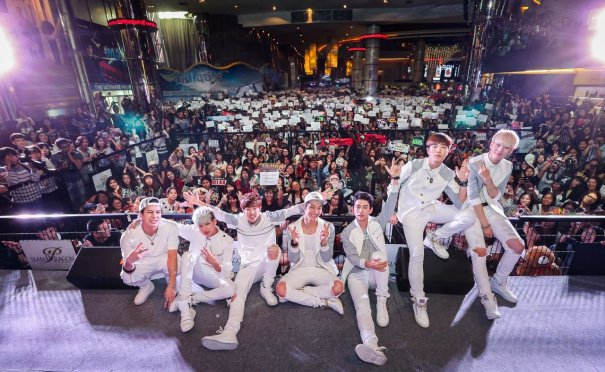GOT7 Proved Its Popularity in Thailand