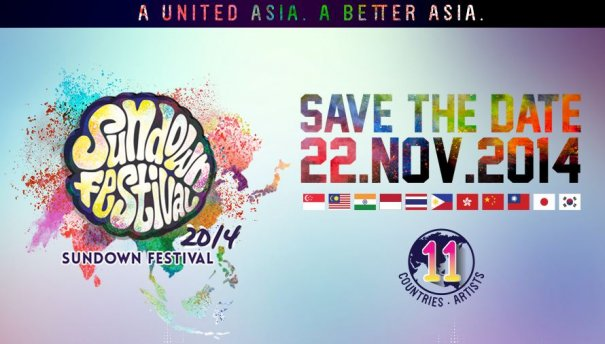 Most Promising Asian Acts Gather for Singapore's Sundown Festival 2014