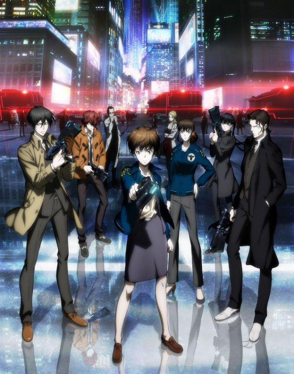 [Jpop] Psycho-Pass 2 New Revelation: Visual, Cast, Staffs And Promo Video