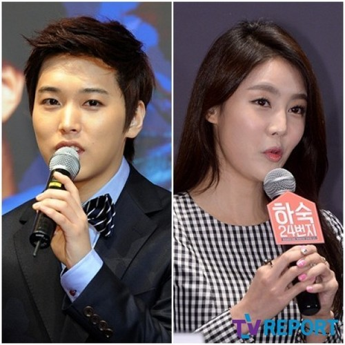 [Kpop] Super Junior's Sungmin Confirms Relationship With Actress Kim Sa Eun