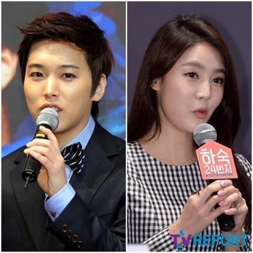 Super Junior's Sungmin Confirms Relationship With Actress Kim Sa Eun