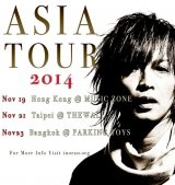 INORAN Reveals Asia Tour Venues and Dates
