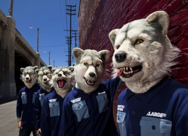 [Jrock] MAN WITH A MISSION Reveals New Song in Shiseido CM