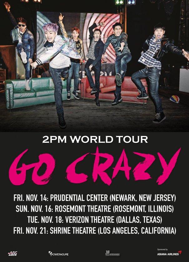 [Kpop] 2PM Announces US Tour Dates