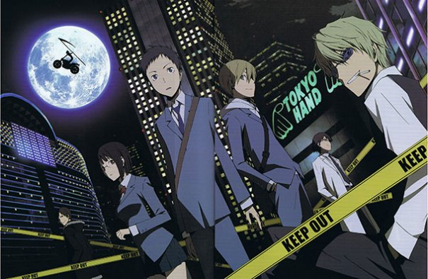 "Theme Songs for upcoming ""Durarara!! x2"" Anime and Game Announced"