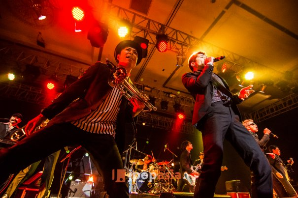 Tokyo Ska Paradise Orchestra Performs at Java Sounds Fair 2014