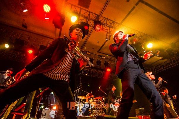[Jpop] Tokyo Ska Paradise Orchestra Performs at Java Sounds Fair 2014