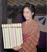 "Mao Inoue Attends Handover Ceremony for NHK's 2015 Taiga Drama ""Hana Moyu"""