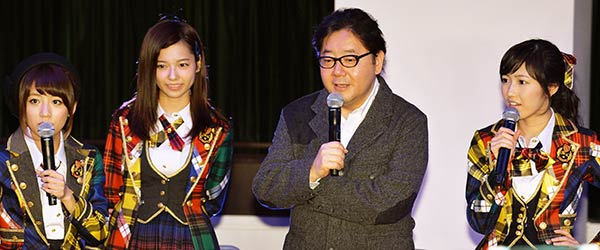 [Jpop] Yasushi Akimoto Announces Plans To Start AKB48 Sister Groups In Okinawa & Manila
