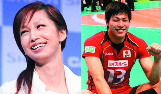 [Jpop] Mika Nakashima To Marry Volleyball Player Shimizu Kunihiro In December