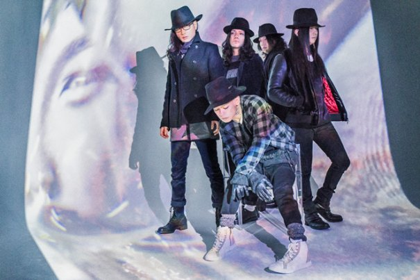acid android and THE NOVEMBERS to Guest in sukekiyo's Special Tour