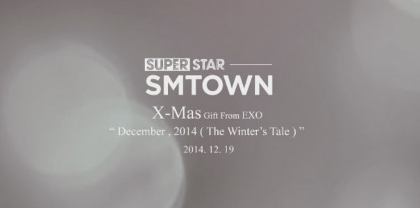 "EXO Teases New Winter Single ""December, 2014"""