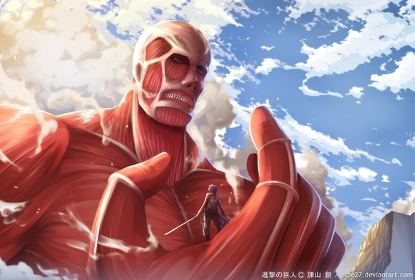 """""""Attack on Titan"""" Colossal Titan is now a 70 cm Figure!"""
