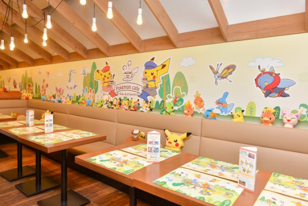 Limited Edition Pokemon Cafe Opens To 4 Hour Waits