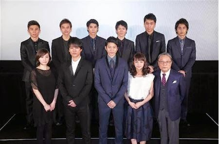 Mukai Osamu Attends Screening Event for Drama SP 'Eien No Zero'