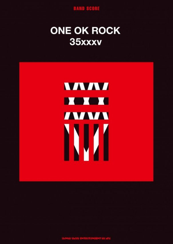 "ONE OK ROCK to Release ""35XXXV"" Bandscore"