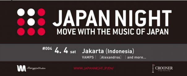 Details Unveiled for First Overseas JAPAN NIGHT in Indonesia