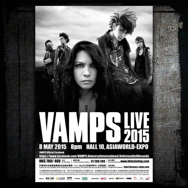 [Jrock] VAMPS to Rock Hong Kong this May