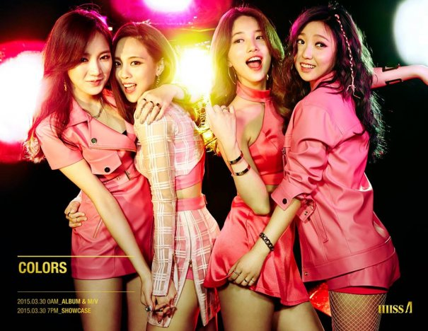 "miss A Teases Upcoming Album ""Colors"""