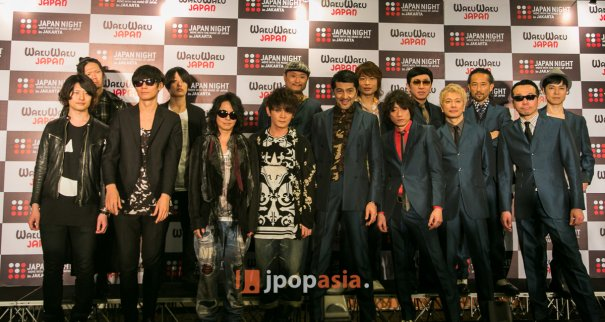 [Jpop] [Exclusive] JAPAN NIGHT Jakarta Media Event with VAMPS, [Alexandros] & Tokyo Ska Paradise Orchestra