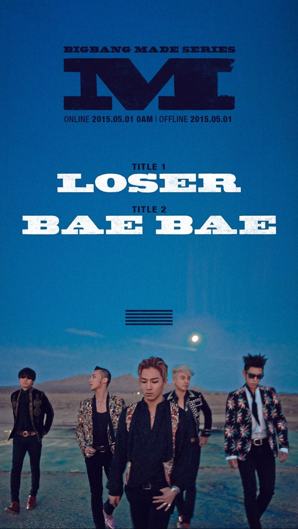 [Kpop] Big Bang Announces First 2 Singles Of Comeback