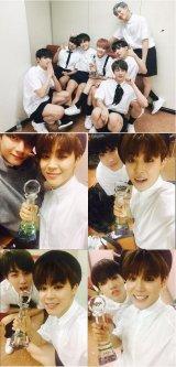 "Bangtan Boys Received First ""Music Bank"" Trophy"