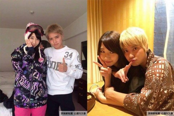 AKB48's Yuki Kashiwagi & NEWS' Yuya Tegoshi Photographed Becoming Close In Hotel Room