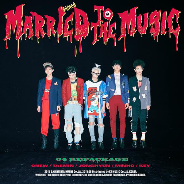 "SHINee To Release ""Rocky Horror Picture Show"" Inspired Album Repackage"