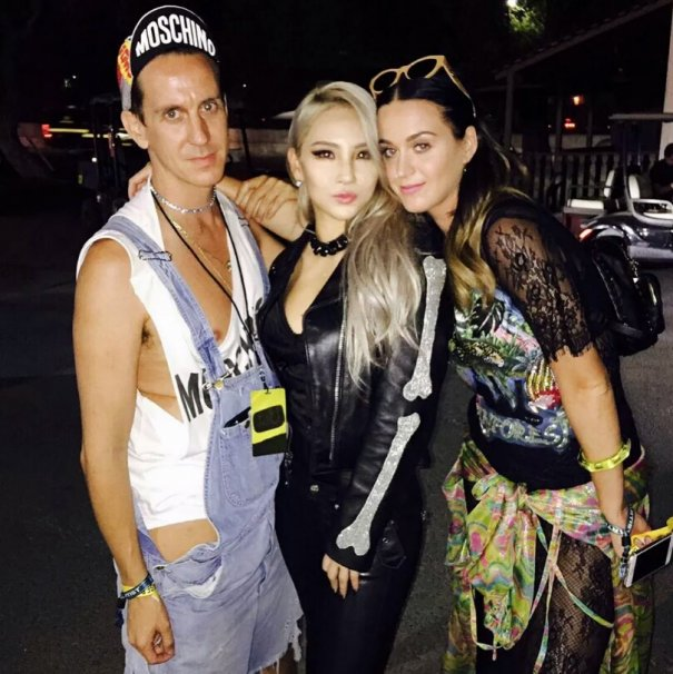 [Kpop] 2NE1's CL Spotted with Katy Perry & Jeremy Scott