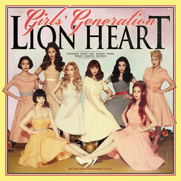 "Girls' Generation Tease New Album ""Lion Heart"""