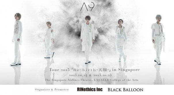 [Jrock] 2-day VIP Tickets for A9 in Singapore Sold Out Within Minutes; More Tickets Now Available