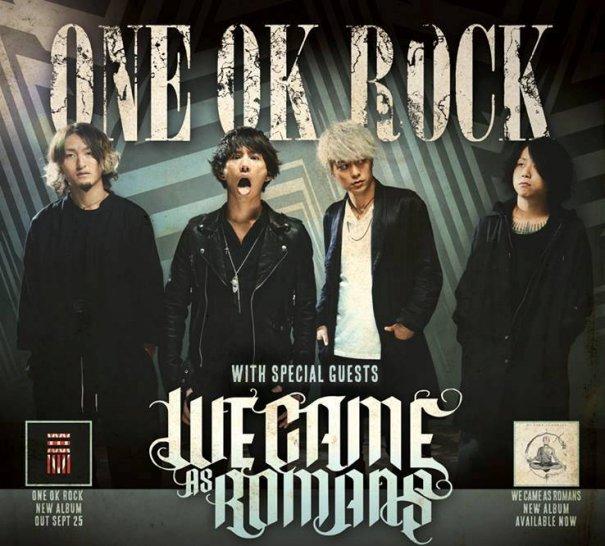 ONE OK ROCK Announces European Tour Dates