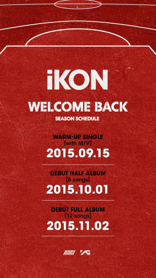 [Kpop] iKON Reveals Debut Release Schedule