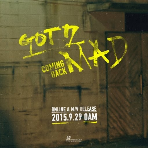 [Kpop] GOT7 Announces New Mini Album