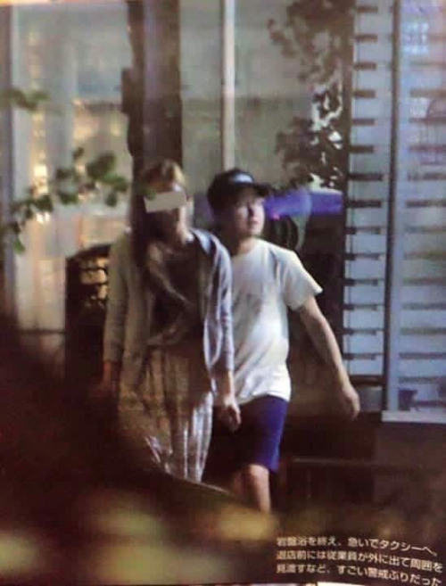 Arashi's Satoshi Ohno Dating & Living With Former Actress