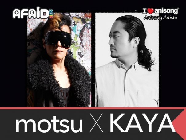 [Exclusive] Interview with AFAID 2015 Guests motsu x KAYA and GARNiDELiA