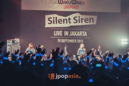 [Exclusive] Live Report of Silent Siren Live in Jakarta