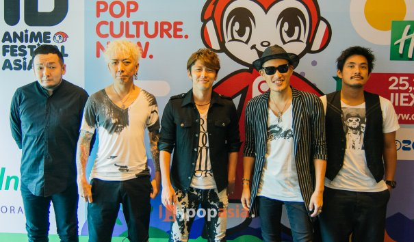 [Exclusive] JpopAsia Interviews FLOW and nano; Recaps Talk Show with GACKT