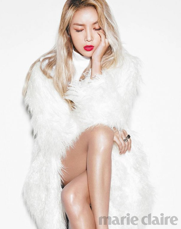 [Kpop] Wonder Girls' Yubin Poses for Marie Claire